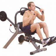 Appareil musculation abdos