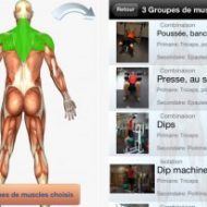 Application iphone musculation