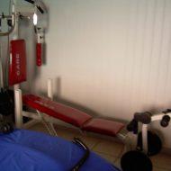 Banc de musculation care