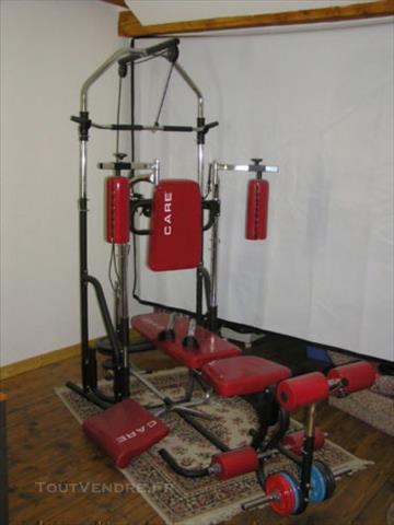Banc De Musculation Care Rouge
