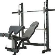 Banc musculation guidé