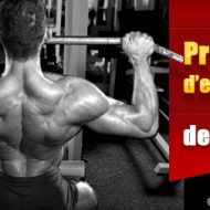 Entrainement intensif musculation