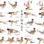 Exercice de musculation abdos