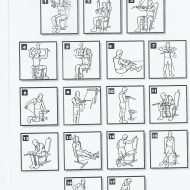 Exercice musculation avec barre