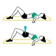 Exercices de musculation fessiers