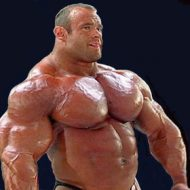 Huge muscles