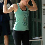 Jessica biel muscle