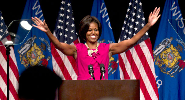 michelle obama muscles