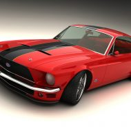 Muscle car mustang