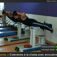 Muscler les lombaires