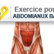 Musculation abdominaux du bas
