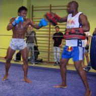 Musculation boxe thai