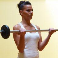 Musculation des bras pour femme