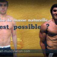 Musculation sans produit