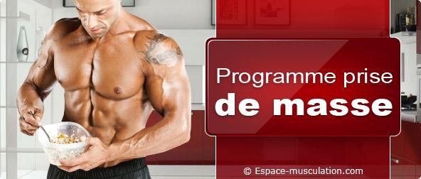 nutrition prise de muscle