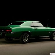 Old ford muscle cars