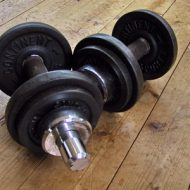 Poid pour musculation