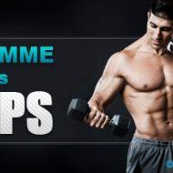 Programme de musculation pour biceps