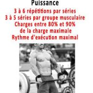 Programme de musculation pour prendre de la masse