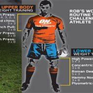Programme de musculation rugby