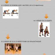 Programme musculation débutant maison