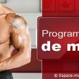 Programme musculation prise de masse ectomorphe