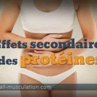 Proteine musculation effet secondaire