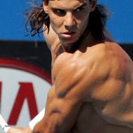Rafael nadal muscle
