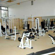 Salle de musculation fitness
