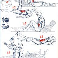 Séance musculation abdominaux