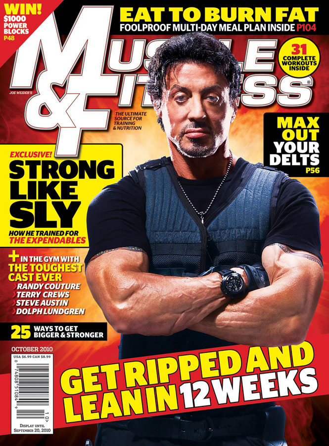 sylvester stallone muscle and fitness