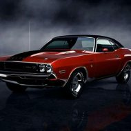 Vintage muscle cars