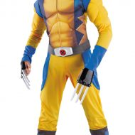 Wolverine muscle costume